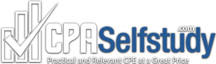 Sign in page for cpaselfstudy.com's courses